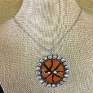 NEW Basketball Clay Necklace